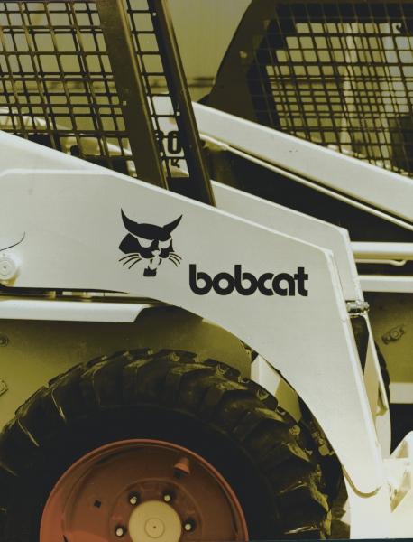 Bobcat logo 1977