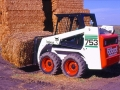 The 753 was popular in most applications including agriculture, where its compact wheelbase made it highly maneuverable.