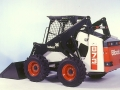 Starting with the frame of an 853, engineers adapted it with a vertical path lift arm and longer wheelbase to give the 873 significantly more rated lift capacity.