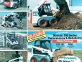 """1998 ad with the theme """"Do it all"""" showed Bobcat machines in many different applications."""