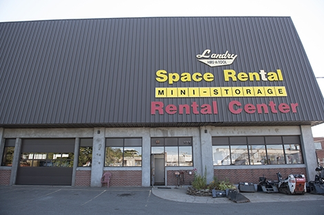 The Landry Rental Center storefront.