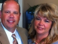 Gregg Thompson of Total Equipment and Rental with wife, Donna