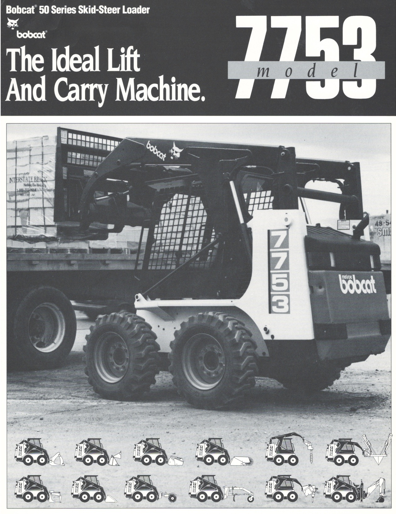 7753 First Specifications, 1991