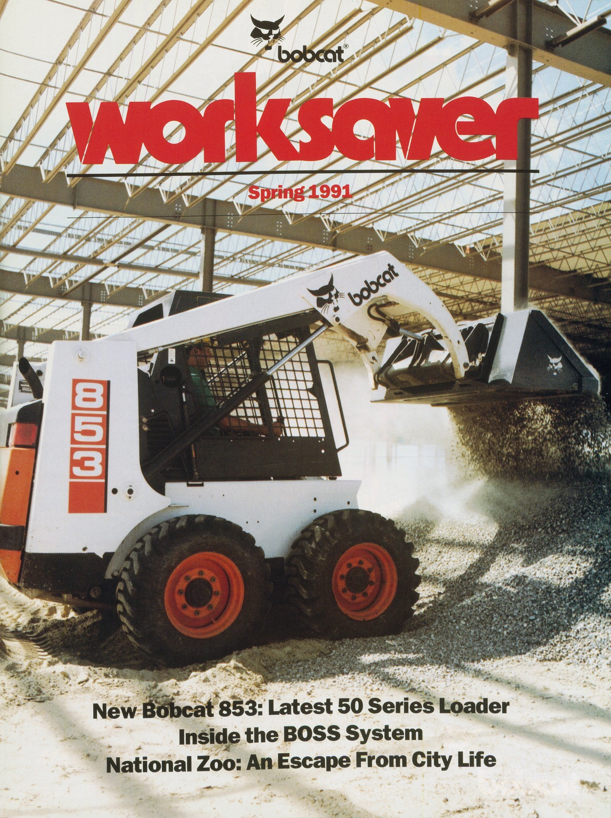 WorkSaver Launches 853, 1991