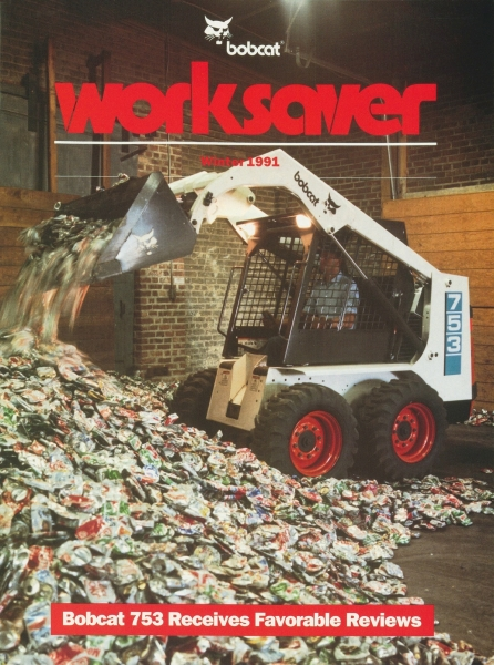 The first customer reviews of the new 753 were published in WorkSaver in January 1991.
