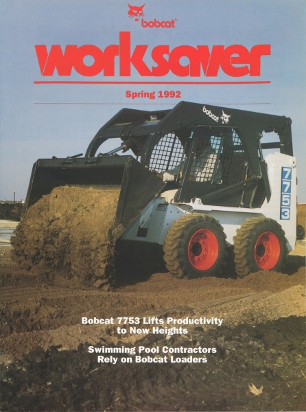 The launch of the new 7753 appeared in WorkSaver in April 1992.