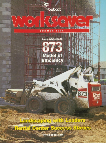 A feature story on the 873 appeared in the Summer 1998 issue of WorkSaver. Click to download a PDF of the story.