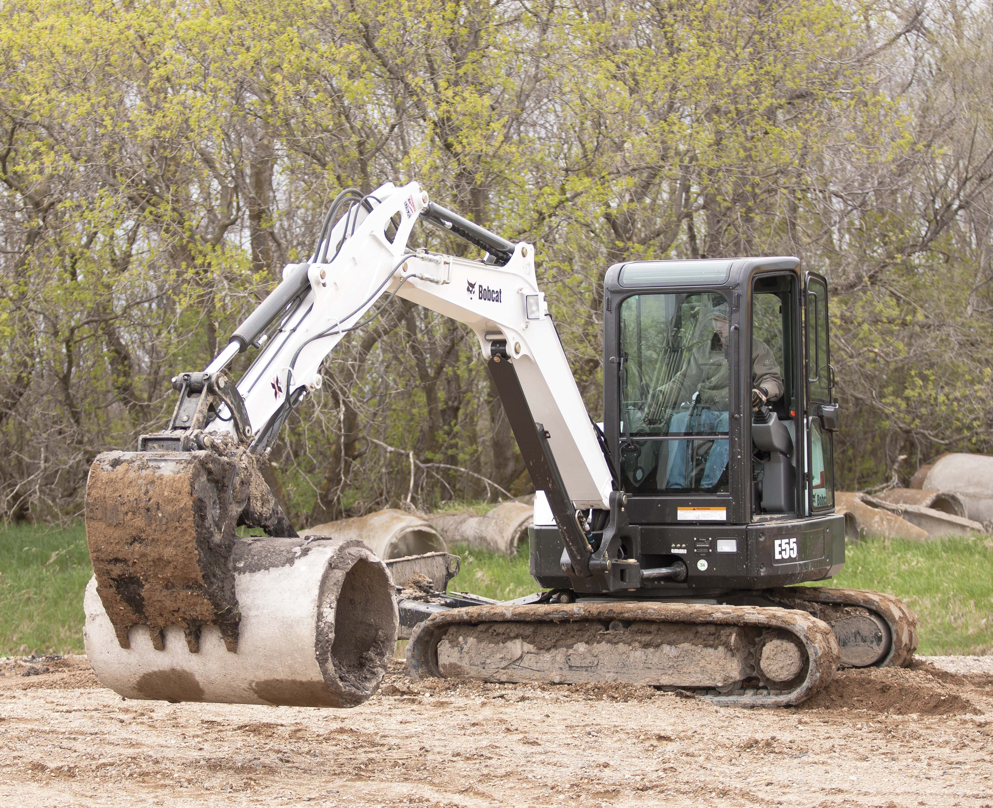 how to build an excavator