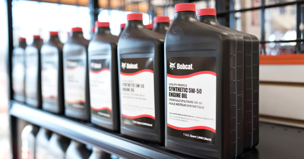Choose the Right Oil and Grease for Your Equipment | Bobcat Blog