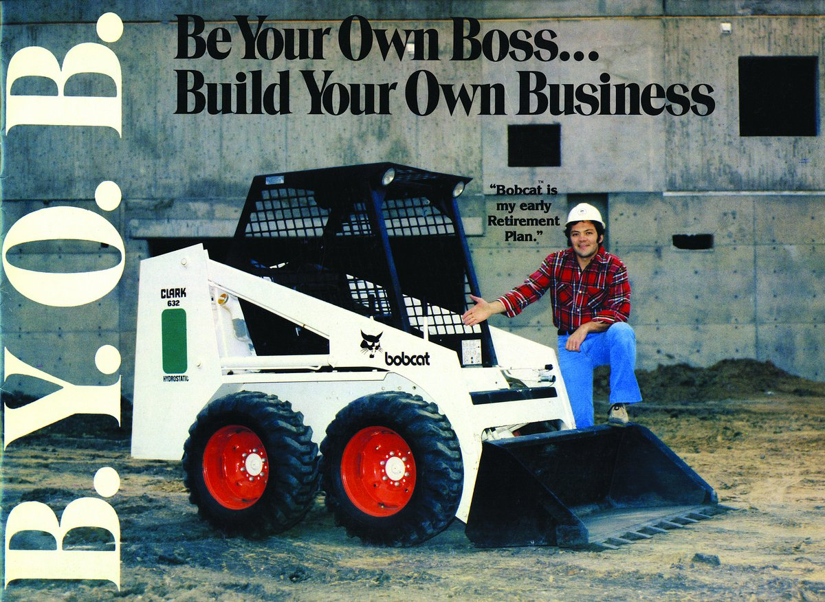 designing a new breed of skid steer loaders bobcat blog in 1978 bobcat launched its ldquobyob be your own boss build your own businessrdquo program featuring the heart of the line bobcat 632 the byob campaign was
