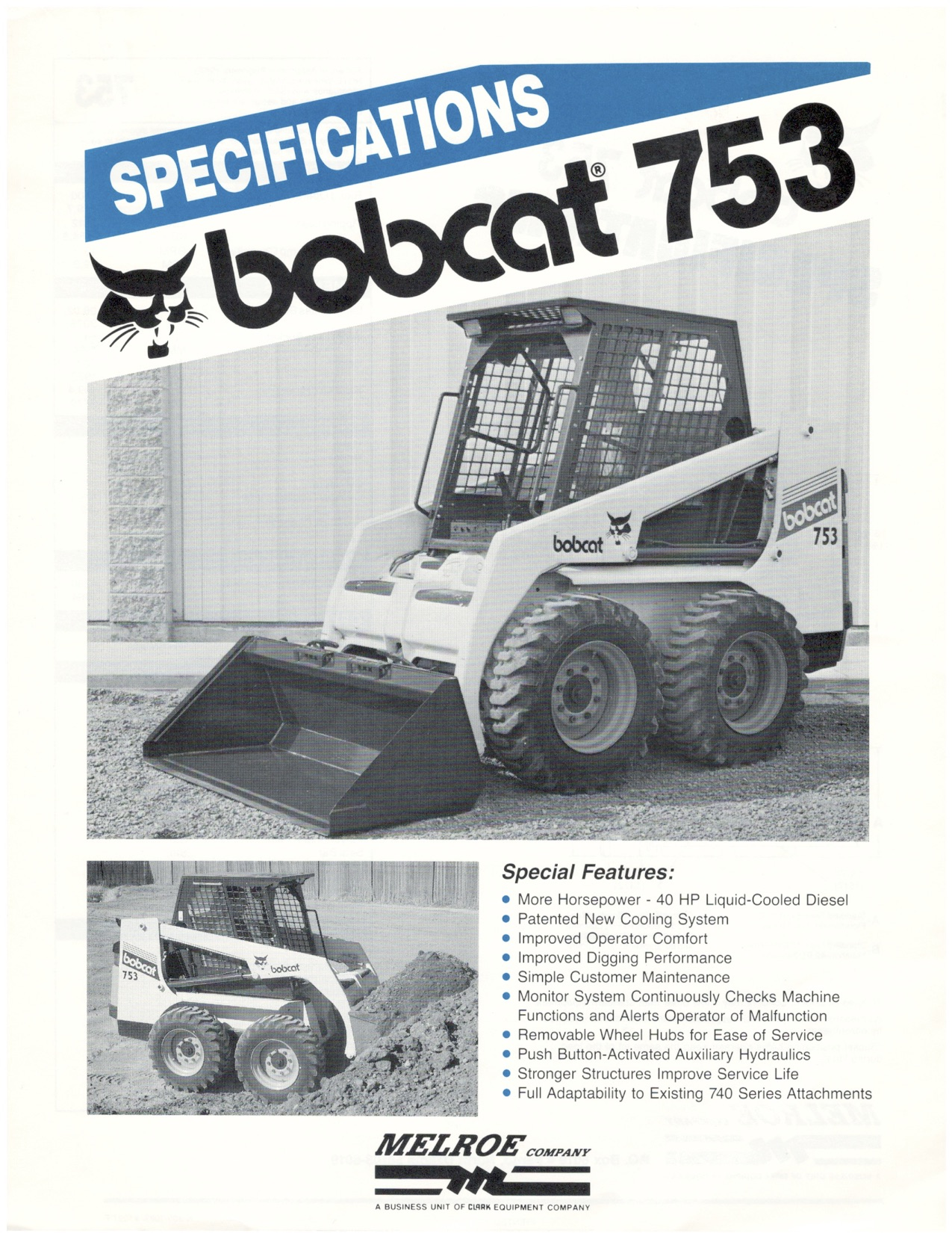 753 Launch Specifications, 1989. ‹