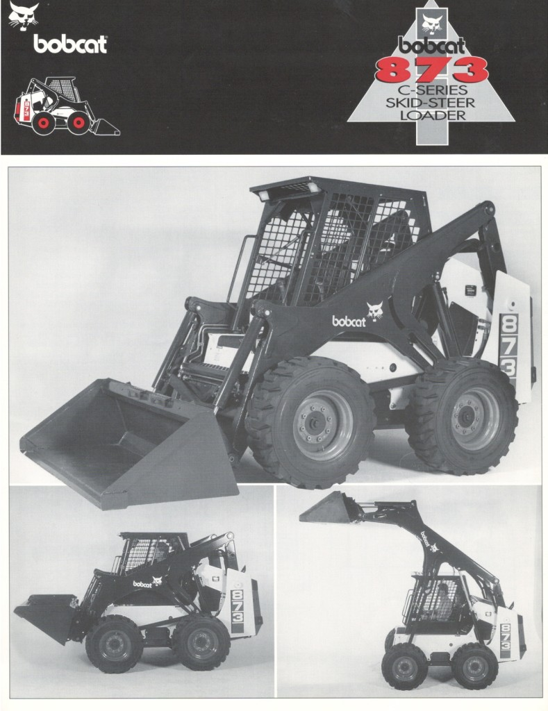 873 First Specification Sheet  1995