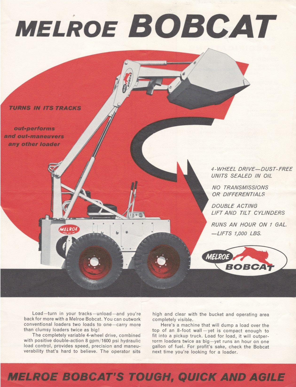 m440 was quot bobcat quot loader in 1962 bobcat