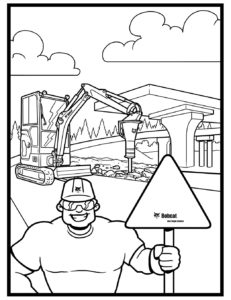 Download The Bobcat Coloring Pages Bobcat Blog