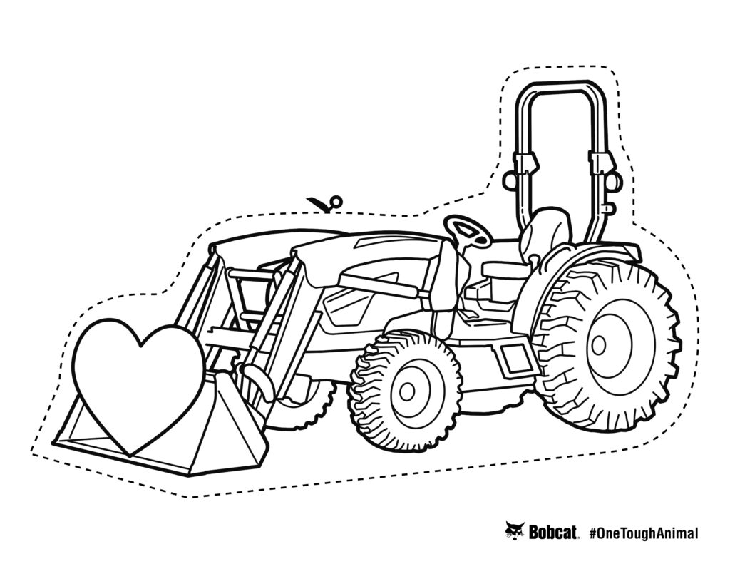 How to Draw Excavator Truck(Backhoe) for kids - coloring pages for ... | 791x1024