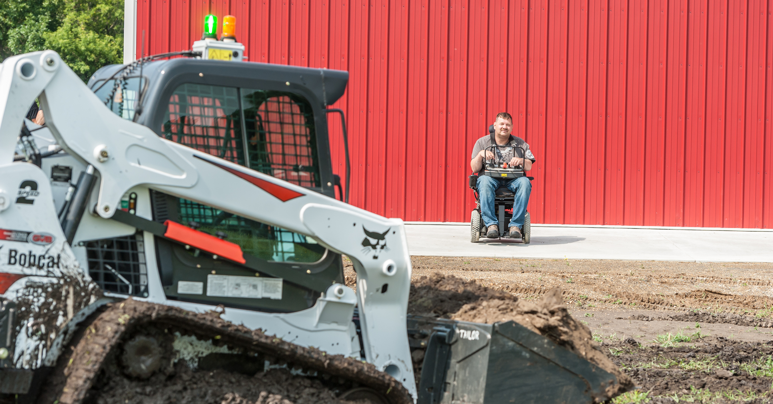 Bobcat Equipment Helps Quadriplegic Man Regain Independence | Bobcat