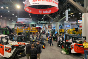 Bobcat Exhibitor Booth at World of Concrete Trade Show