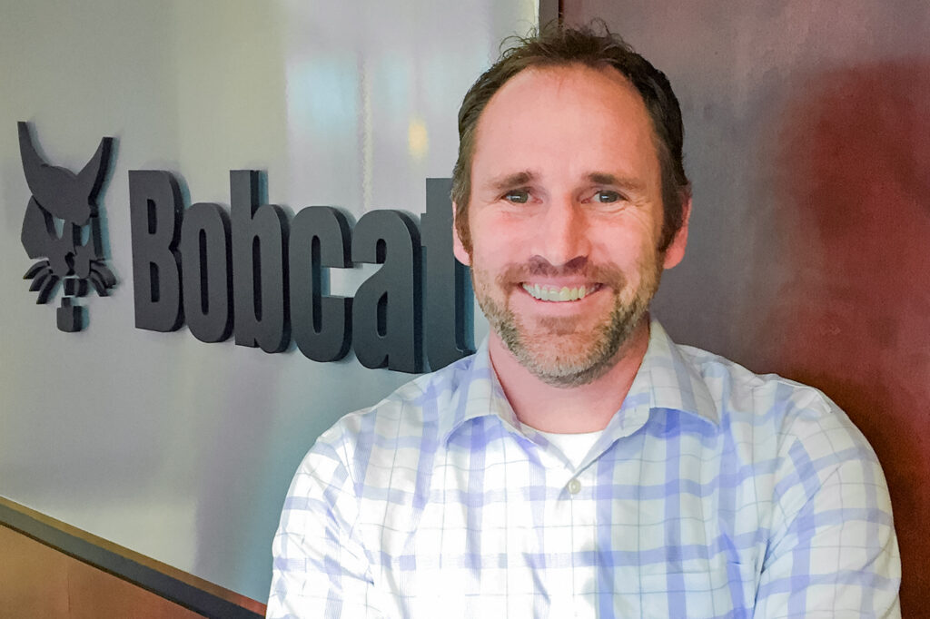 Headshot of Rob Gilles, Bobcat director of customer insight