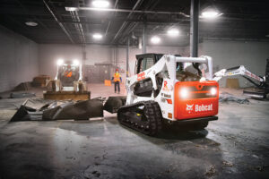 Bobcat Compact Track Loaders Work On An Interior Demolition Project